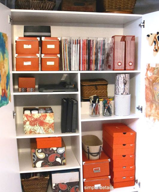 Simple Details: My Five Favorites - Home Organization Tips