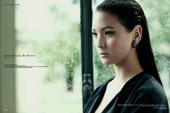 Shu Uemura para Avenue Illustrated. #haircare #shuuemura #model #fashion #magazine #editorial