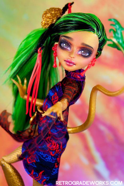 Custom Monster High Jinafire - 'Kina'