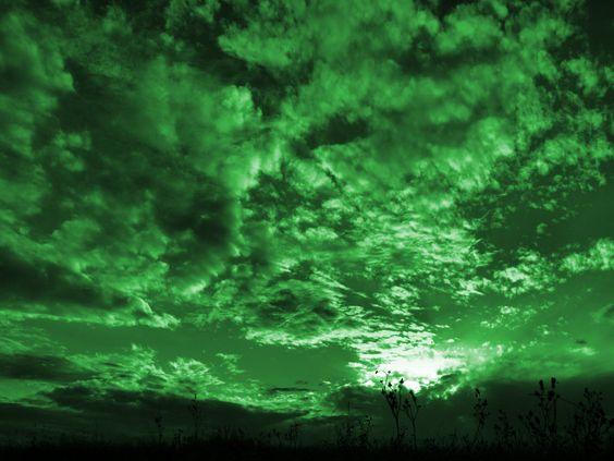 green sky - Google Search