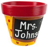 Craft ideas - Teacher Pot - pottery, pots and terra cotta