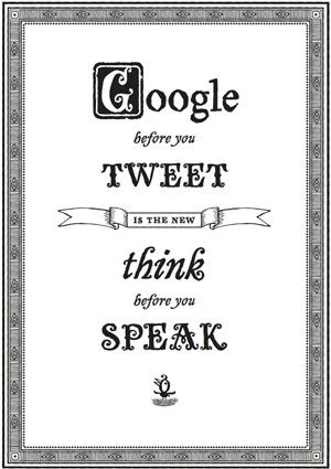 The new 'Think before you speak'. Works with pins too...