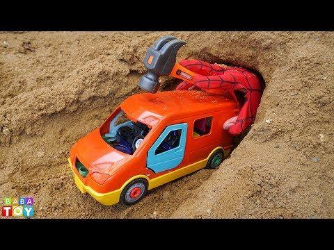تعليم الاطفال مع لعبة السيارات العاب اطفال تعليمية 영어 배우기 알파벳송 인기 لعبة سيارة إسعاف Youtube Topuk Dikeni