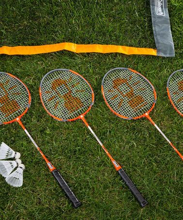 Another great find on #zulily! Badminton Set by Coleman #zulilyfinds