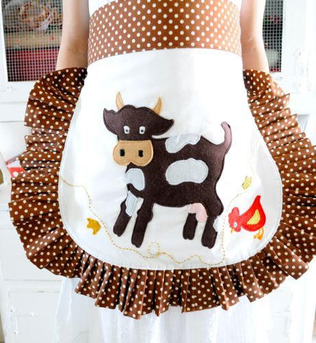 how to make a cute apron