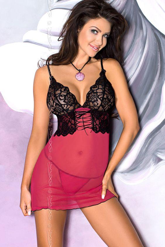 La nuisette Almandine V-5759, c'est de la sensualité et du glamour grâce à sa confection dans un tulle framboise... ♦ Retrouvez nous sur Luxuryalleydessou... ♦ #Luxuryalley #Axami #Axamilingerie #sexy #lingerie #feminine #seduction #Cute #Girl #grils #charme #Fallowme #Like #Follow #amazing #beautiful #love #fashion #Nuisette #Almandine #5759 ○○○○○○○○○○○○○○  #Luxuryalleydessous #lingerieaddict #lingeriefashion #instalingerie