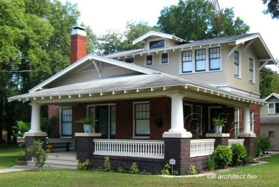 Bungalow Style Homes Craftsman Bungalow House Plans Arts And Crafts Bungalows Craftsman Bungalows Bungalow Exterior Craftsman Style Homes