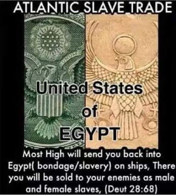 """There are at least 13 references in the Torah to Egypt מצרים as being """"the House of Bondage"""" etymologically defined by initiated scholars so this may hold some truth.:"""