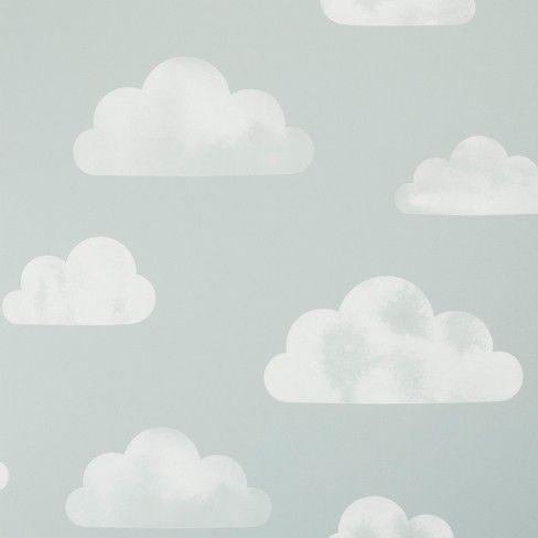 Peel Stick Wallpaper Water Color Clouds Gray Cloud Island Target Peel And Stick Wallpaper Grey Clouds Wallpaper
