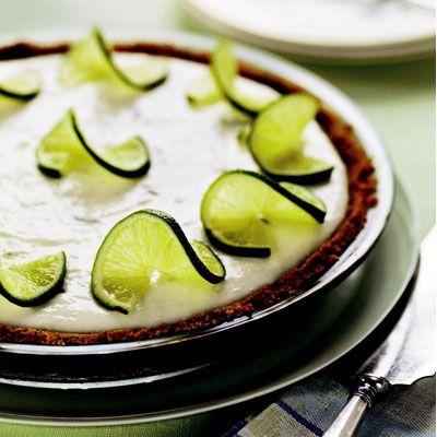 Basic key lime pie