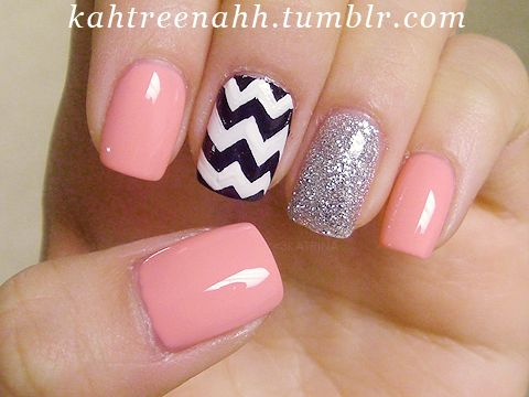 Absolutely love these nails! Good inspiration