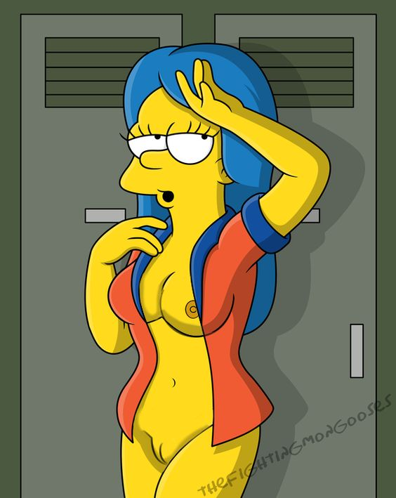 Marge Simpson ist abgefuckt