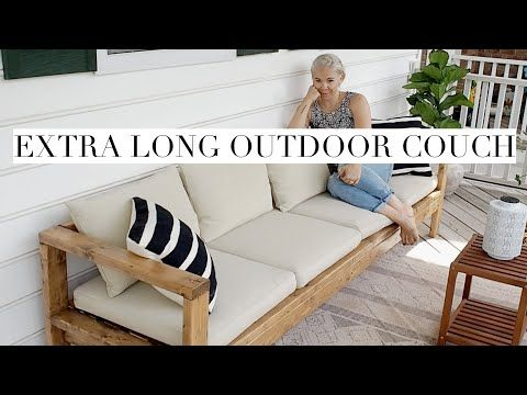 Restoration Hardware Knock Off Extra Long Outdoor Couch Outdoor Couch Diy Outdoor Furniture Outdoor Chairs Diy