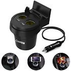 ♣❝ Car Charger Mount Cigarette Lighter Costech 2 Lighter Socket Stand 3.4A Dual ... http://ebay.to/2bpWewt