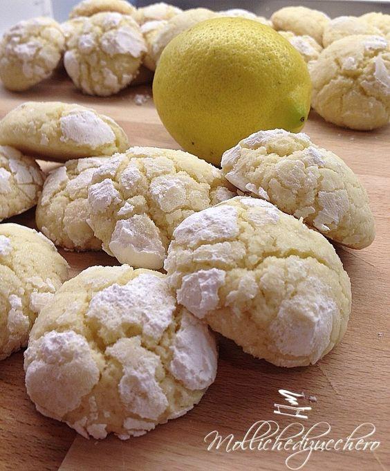 Biscottini al limone - Molliche di zucchero