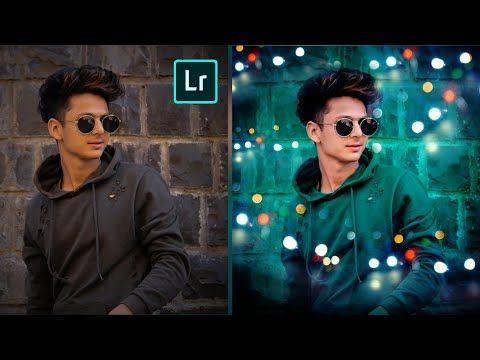 Adobe lightroom blur background