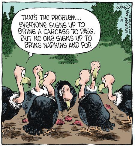 Potluck vultures pinterest potlucks