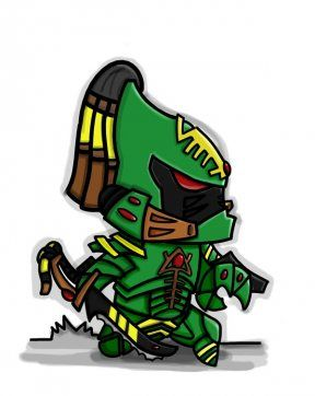Escorpiones asesinos #eldar #warhammer40k