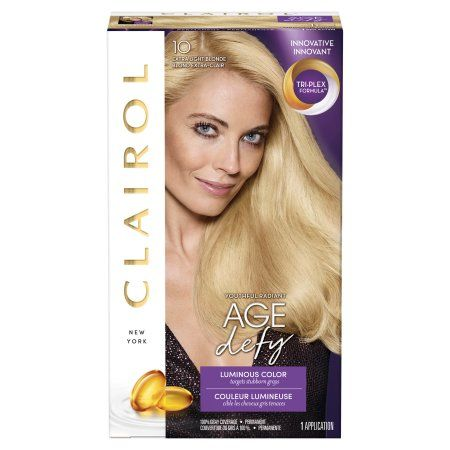 Clairol Age Defy Permanent Hair Color Extra Light Blonde 10