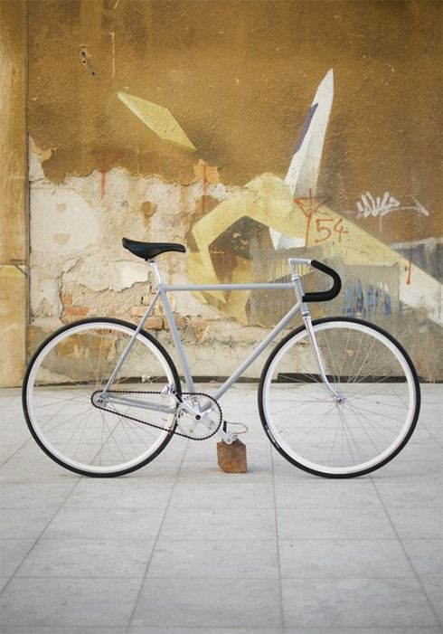 Grey single speed
