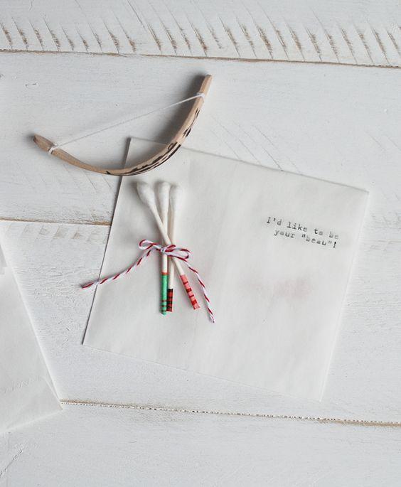 Mini Bow & Arrow Valentine @Matty Chuah Merrythought