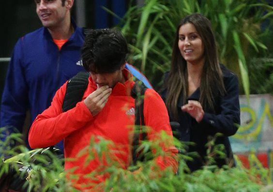 Ana Boyer y Verdasco, en el Masters ATP París Bercy