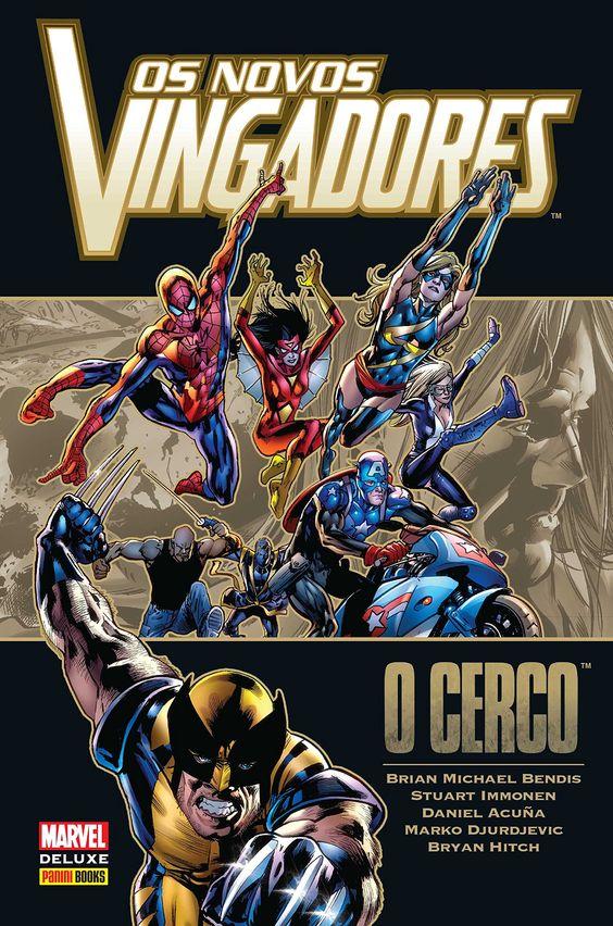 Os Novos Vingadores - O Cerco - Marvel Deluxe - MonsterBrain