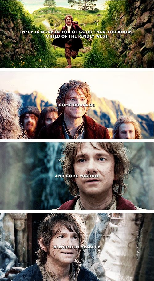 If more of us valued food and cheer and song above hoarded gold, it would be a merrier world. #thehobbit