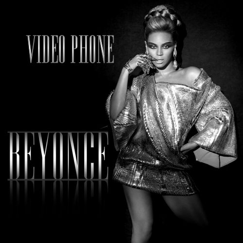 Beyoncé – Video Phone (single cover art)