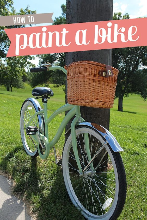 diy how to paint your bike how to spray paint this is awesome and. Black Bedroom Furniture Sets. Home Design Ideas