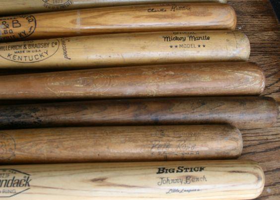 dating spalding baseball bats