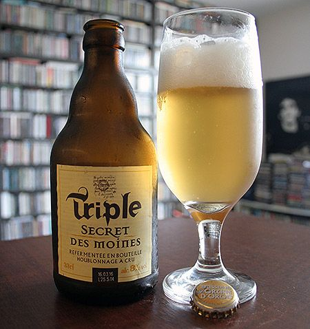 Bia Triple Secret Des Moines 8% - Chai 330ml