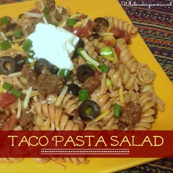 ... taco pasta salads pasta salad pasta salad recipes tacos pasta salad