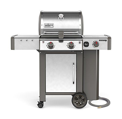 Weber Stephen Products 65004001 Genesis Ii Lx S 240 Natural Gas Grill Stainless Steel Two Burner Review In 2020 Natural Gas Grill Propane Gas Grill Gas Grill