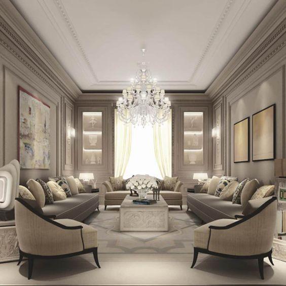 Salas de estilo moderno por IONS DESIGN