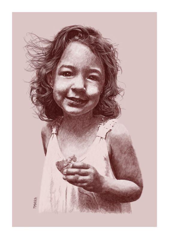 Retrato de mi prima Victoria