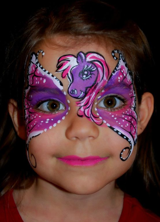 Face Painting Face painting Animals Pinterest Pegasus, My - best halloween face painting ideas