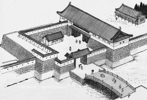 江戸城三十六見附門 大江戸歴史散歩を楽しむ会 建築写真 歴史 歴史的なイラスト
