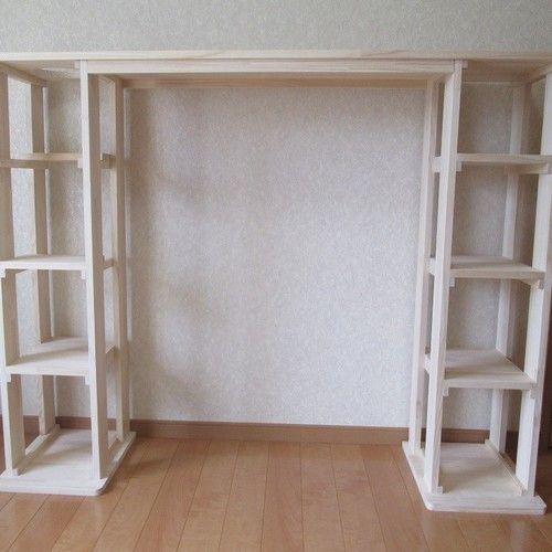 木製キャットタワー キャットウォーク一体型 にゃんこランド タイプa