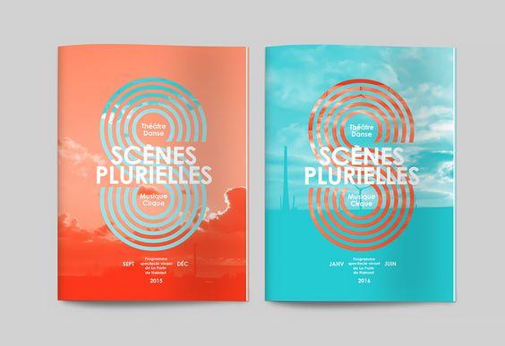 Les produits de l'épicierie, design graphique, Scènes plurielles, La porte du Hainaut