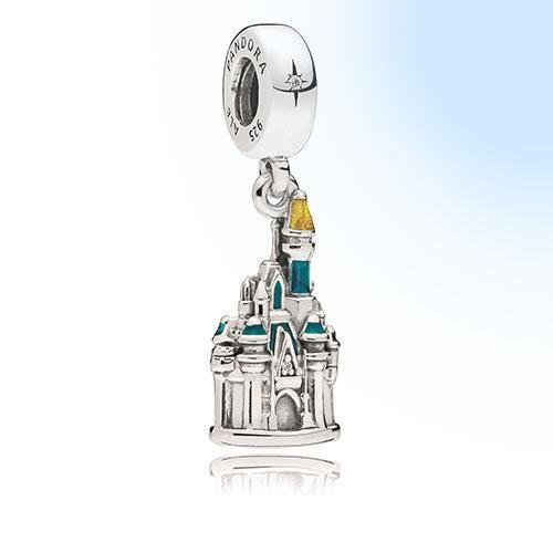 TDR - Pandora Charm x Tokyo Disneyland Castle | Pandora charms ...
