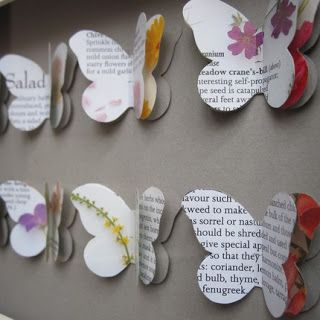 Paper Airplane Design: Paper butterflies