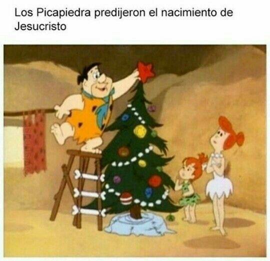 Pin De Mayte Rios En Feliz Navidad Dibujos Animados Navidenos Los Picapiedras Paginas De Memes