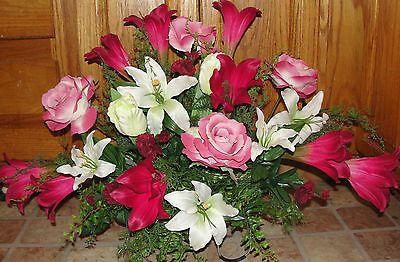 memorial day artificial flower arrangements