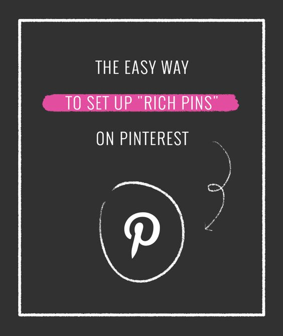"""The Easy Way to Set Up """"Rich Pins"""" on Pinterest - So important for bloggers or anyone with an online store!"""