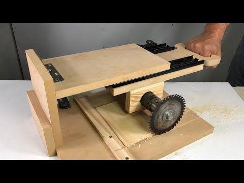 Truco Para Tu Taladro Sierra De Inglete Deslizante Idea Brillante Youtube Gubias Para Tallar Madera Maquinas Para Carpinteria Maquinas Para Madera