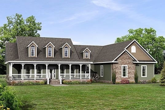 North Carolina Home Floor Plans Clarendon Cape Cod