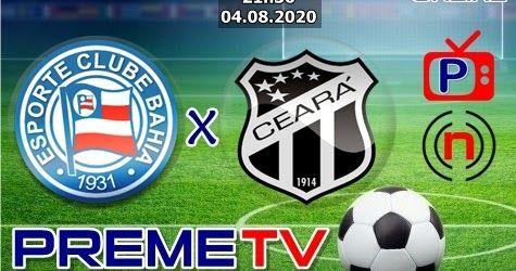 Bahia X Ceara Hoje 04 De Agosto De 2020 As 21h30 2º Jogo Da Final Copa Do Nordeste Ao Vivo Assista Ao Vivo O Melhor Conte Bahia Ceara Futebol Tv