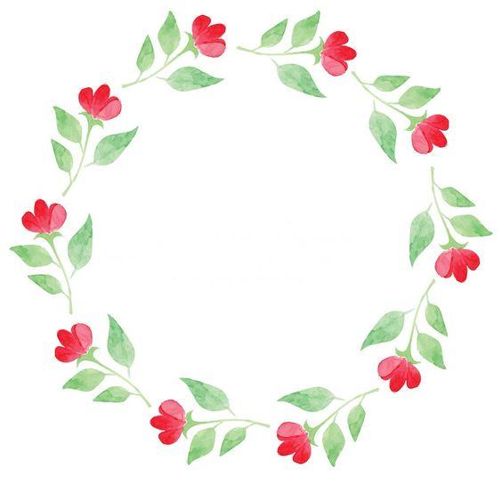 Psiu Noiva - Mais de 30 Frames Florais Para Download Grátis 11