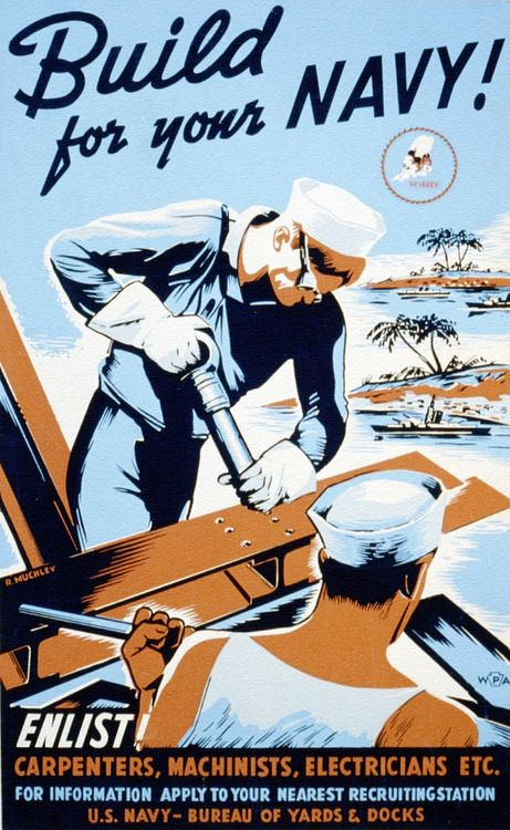 sgtwilkerson:    Seabees Recruitment Poster